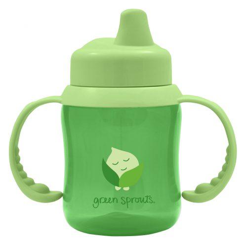 כוס שתיה לתינוק- ירוק