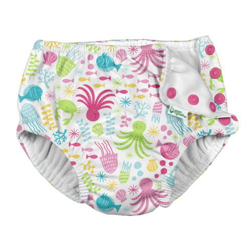 2020 Snap-Swim Diapers-Open-White Sea Pals