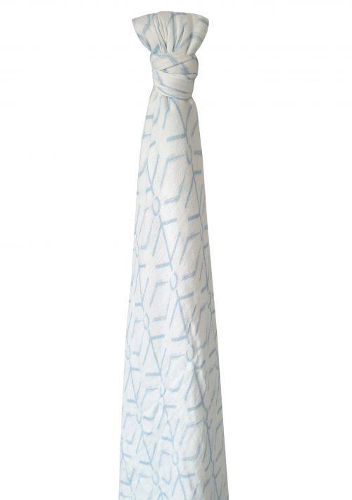 שמיכת טטרה מבמבוק- גיאו כחול